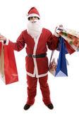 在圣诞老人服装的年轻人 — 图库照片