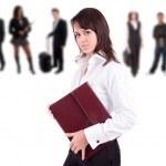 Business woman posing — Stock Photo #1713516