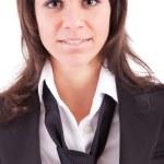 Business woman posing — Stock Photo