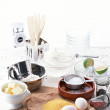 Stock Photo: Fresh cooking and kitchen