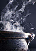 Fresh cooking and kitchen — Stock Photo