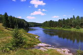 Chusovaya River, Perm Krai — Stock Photo