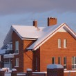 New cottage in the winter — Stock Photo #1720919