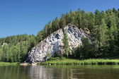 Nature of the Ural River Chusovaya — Stock Photo