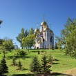 Church on a summer lawn - Foto de Stock