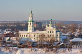 Church in the city of Perm region Kungur — Stock Photo