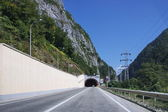 Tunnel at Krasnaya Polyana in Sochi — Stock Photo