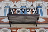 Beautiful decorative balcony — Stock Photo