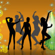 Royalty-Free Stock Photo: New year\'s evening party