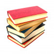 Book stack isolated on the white — Stock Photo #1547118
