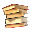 Book stack isolated on the white — Stock Photo #1547281