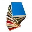 Book stack isolated on the white — Stock Photo #1548018