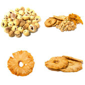 Dried fruits assortment — Stock Photo