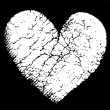 Royalty-Free Stock Векторное изображение: Broken vector heart
