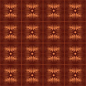 Brown abstract seamless background — Stock Vector