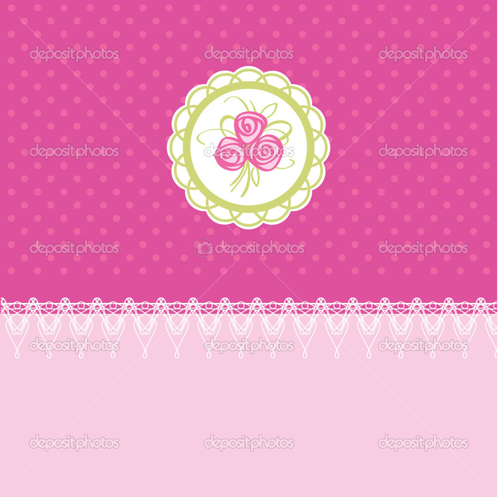 Easter card vector illustration — Stock Vector #2361851