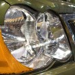 Close-up of a new modern car head lamp — Stock Photo #1496021