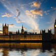 House of Parliament in London - Stock Photo