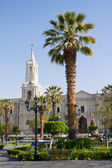 Main square of Arequipa, Peru — Stock Photo