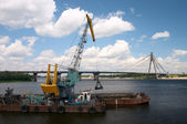Dredger — Stock Photo