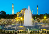 Hagia Sophia church in Istanbul — Stock Photo