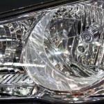 Modern car head lamp — Stock Photo #1508377