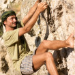 Rock climber — Stock Photo #1508513