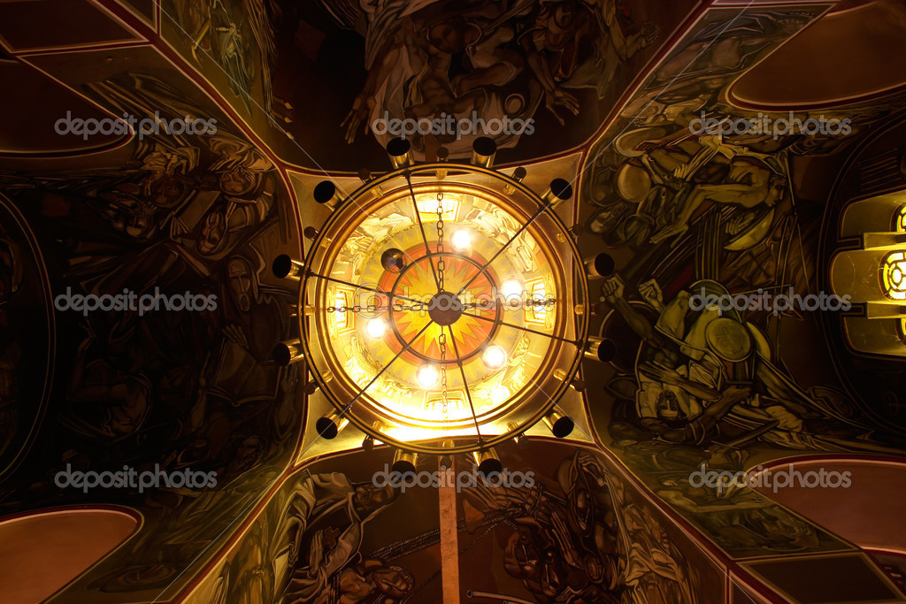 Cupola of modern church in Bulgaria  — Stock Photo #1508351