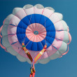 Parachute canopy - Stock Photo