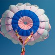 Stock Photo: Parachute canopy