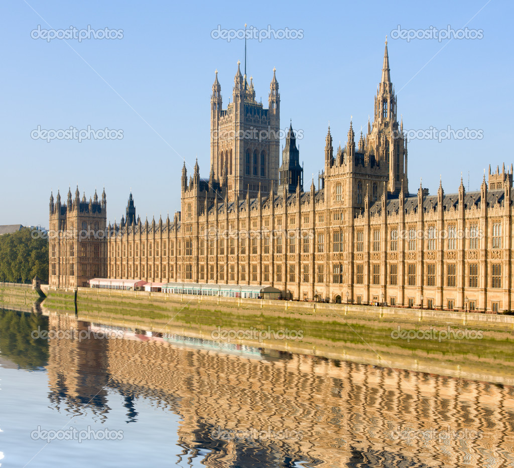 House of Parliament, London, Great Britain — Foto Stock #1515489
