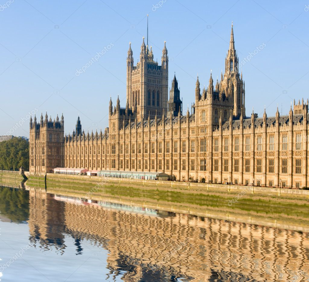 House of Parliament, London, Great Britain — Stock Photo #1515489