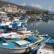 Crete fisherman boats — Stock Photo