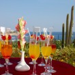 Cocktail party in tropical resort — Stock Photo #1554259