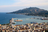Small port on mediterranean sea — Stock Photo