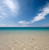 Cool blue sea water — Stock Photo