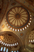 Cupola of mosque with tile — Stock Photo