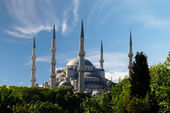 Blue mosque in Istanbul, Turkey — Stockfoto