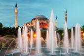 Hagia sophia em istambul — Foto Stock