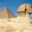 thumbnail of Sphinx and pyramid