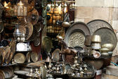 Old rarity things at orient bazaar — Stock Photo