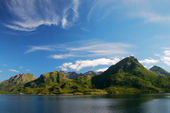 North Norway landscape — Stock Photo
