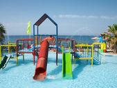 Wodny plac zabaw — Zdjęcie stockowe