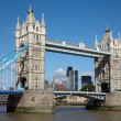 Tower bridge in London — Stock Photo