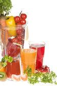 świeżych warzyw żywności w mikserze — Zdjęcie stockowe
