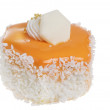 Stock Photo: Sweet cake food over white background