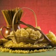 Still life with italian pasta — Stock Photo #1738935