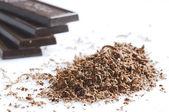 Chocoladeschilfers — Stockfoto