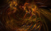 Abstract background on base fractal — Stock Photo