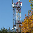 Mobile communication tower — Stock Photo #1482298